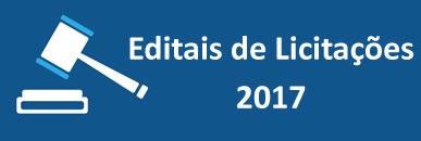 Editais de Licitações 2017