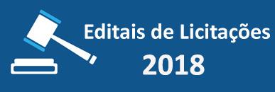 Editais de Licitações 2018